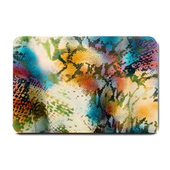Abstract Color Splash Background Colorful Wallpaper Small Doormat