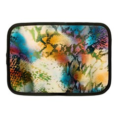 Abstract Color Splash Background Colorful Wallpaper Netbook Case (Medium)