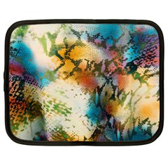 Abstract Color Splash Background Colorful Wallpaper Netbook Case (xl)