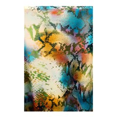 Abstract Color Splash Background Colorful Wallpaper Shower Curtain 48  X 72  (small)