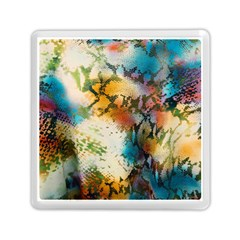 Abstract Color Splash Background Colorful Wallpaper Memory Card Reader (square)