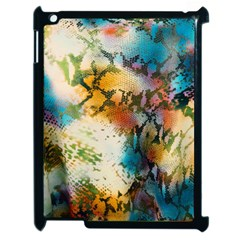 Abstract Color Splash Background Colorful Wallpaper Apple Ipad 2 Case (black)