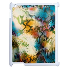 Abstract Color Splash Background Colorful Wallpaper Apple Ipad 2 Case (white)
