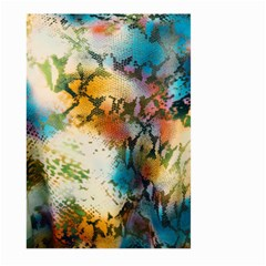 Abstract Color Splash Background Colorful Wallpaper Large Garden Flag (two Sides)