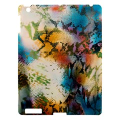Abstract Color Splash Background Colorful Wallpaper Apple iPad 3/4 Hardshell Case