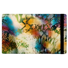 Abstract Color Splash Background Colorful Wallpaper Apple iPad 3/4 Flip Case