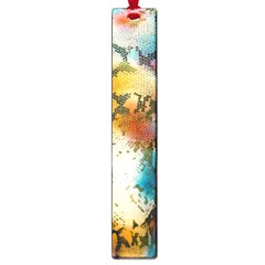 Abstract Color Splash Background Colorful Wallpaper Large Book Marks