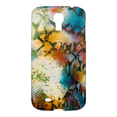 Abstract Color Splash Background Colorful Wallpaper Samsung Galaxy S4 I9500/I9505 Hardshell Case