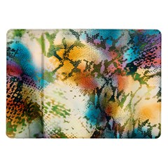Abstract Color Splash Background Colorful Wallpaper Samsung Galaxy Tab 10.1  P7500 Flip Case