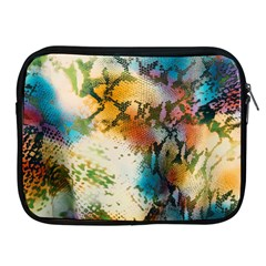 Abstract Color Splash Background Colorful Wallpaper Apple iPad 2/3/4 Zipper Cases