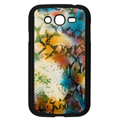 Abstract Color Splash Background Colorful Wallpaper Samsung Galaxy Grand Duos I9082 Case (black)