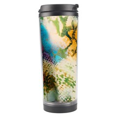 Abstract Color Splash Background Colorful Wallpaper Travel Tumbler