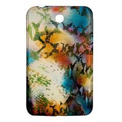 Abstract Color Splash Background Colorful Wallpaper Samsung Galaxy Tab 3 (7 ) P3200 Hardshell Case