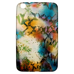 Abstract Color Splash Background Colorful Wallpaper Samsung Galaxy Tab 3 (8 ) T3100 Hardshell Case