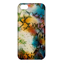 Abstract Color Splash Background Colorful Wallpaper Apple iPhone 5C Hardshell Case