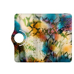Abstract Color Splash Background Colorful Wallpaper Kindle Fire HDX 8.9  Flip 360 Case