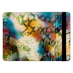 Abstract Color Splash Background Colorful Wallpaper Samsung Galaxy Tab Pro 12.2  Flip Case