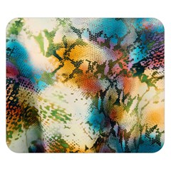 Abstract Color Splash Background Colorful Wallpaper Double Sided Flano Blanket (Small)