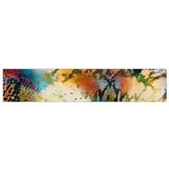 Abstract Color Splash Background Colorful Wallpaper Flano Scarf (Small)