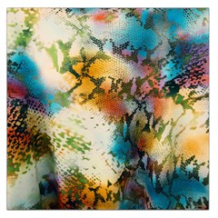 Abstract Color Splash Background Colorful Wallpaper Large Satin Scarf (square)
