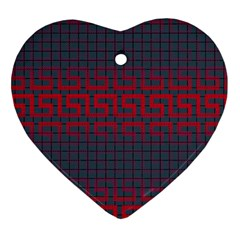 Abstract Tiling Pattern Background Ornament (heart)