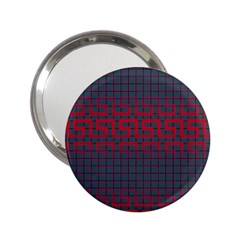 Abstract Tiling Pattern Background 2.25  Handbag Mirrors