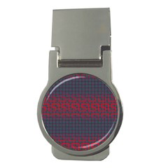 Abstract Tiling Pattern Background Money Clips (Round)