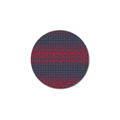 Abstract Tiling Pattern Background Golf Ball Marker (10 pack)