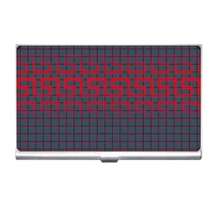 Abstract Tiling Pattern Background Business Card Holders