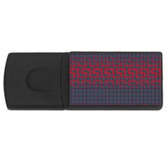 Abstract Tiling Pattern Background USB Flash Drive Rectangular (2 GB)