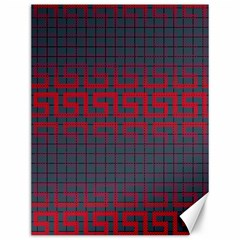 Abstract Tiling Pattern Background Canvas 12  x 16