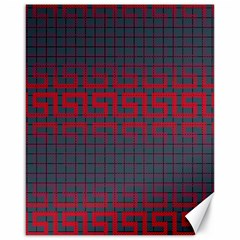 Abstract Tiling Pattern Background Canvas 16  x 20