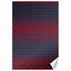 Abstract Tiling Pattern Background Canvas 20  X 30