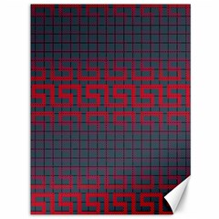 Abstract Tiling Pattern Background Canvas 36  x 48