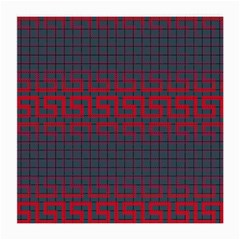 Abstract Tiling Pattern Background Medium Glasses Cloth (2-Side)