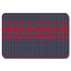 Abstract Tiling Pattern Background Large Doormat