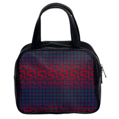 Abstract Tiling Pattern Background Classic Handbags (2 Sides)