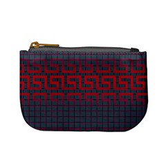 Abstract Tiling Pattern Background Mini Coin Purses