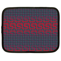 Abstract Tiling Pattern Background Netbook Case (xl)