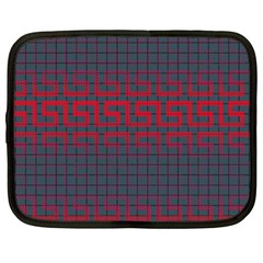 Abstract Tiling Pattern Background Netbook Case (XXL)