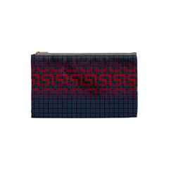 Abstract Tiling Pattern Background Cosmetic Bag (small)