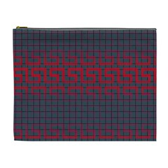 Abstract Tiling Pattern Background Cosmetic Bag (XL)