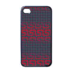 Abstract Tiling Pattern Background Apple Iphone 4 Case (black)