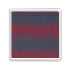 Abstract Tiling Pattern Background Memory Card Reader (square)