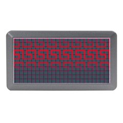 Abstract Tiling Pattern Background Memory Card Reader (mini)