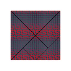 Abstract Tiling Pattern Background Acrylic Tangram Puzzle (4  X 4 )