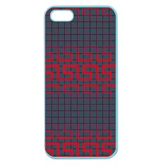 Abstract Tiling Pattern Background Apple Seamless Iphone 5 Case (color)