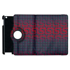 Abstract Tiling Pattern Background Apple Ipad 2 Flip 360 Case