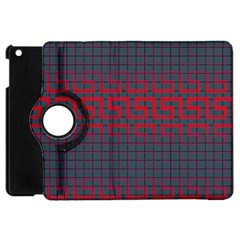 Abstract Tiling Pattern Background Apple iPad Mini Flip 360 Case