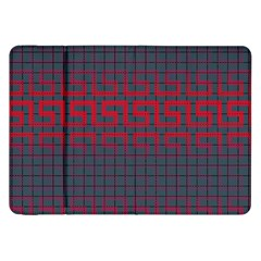 Abstract Tiling Pattern Background Samsung Galaxy Tab 8.9  P7300 Flip Case